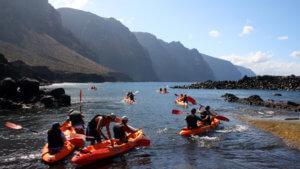 Las 6 mejores experiencias para esta Semana Santa en Teno e Isla Baja. kayak-tenerife-300x169