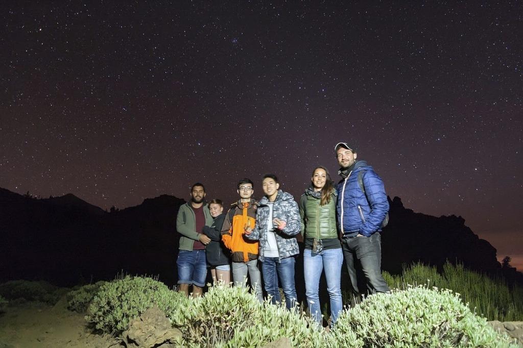 Estrellas en El Teide IMG_0360
