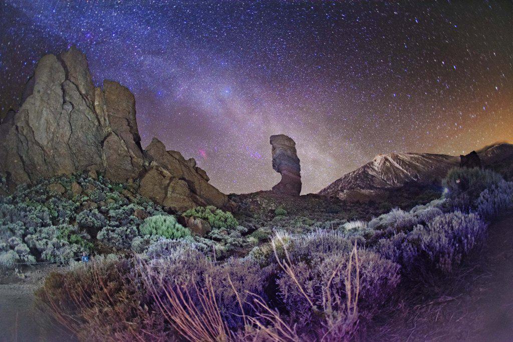 Resultado de imagen de noche de las estrellas en el teide