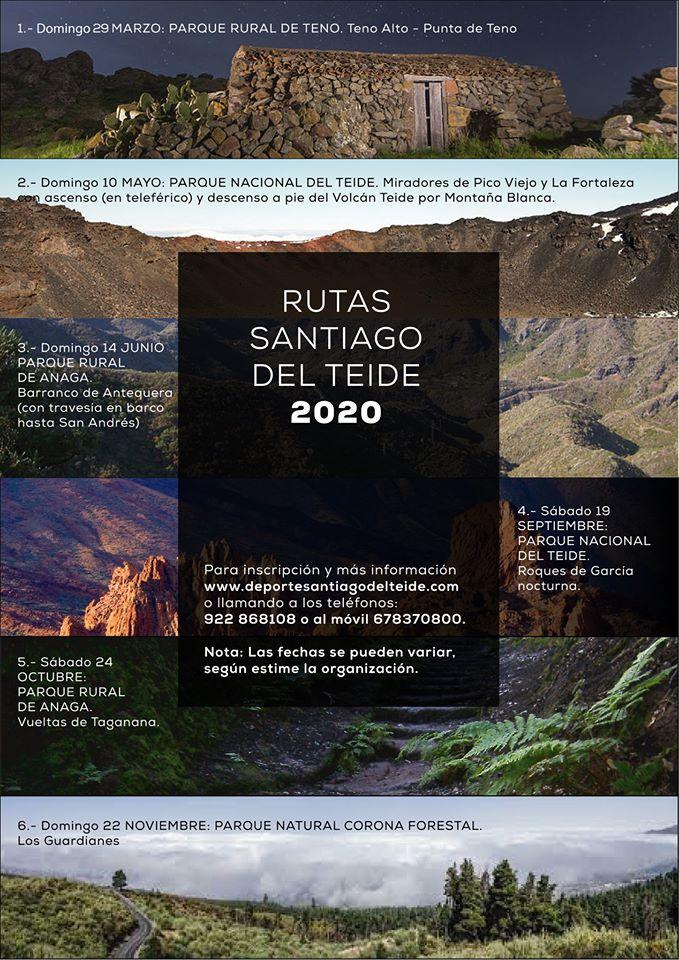 Programa de rutas Santiago del Teide 2020 cartel-santiago-teide