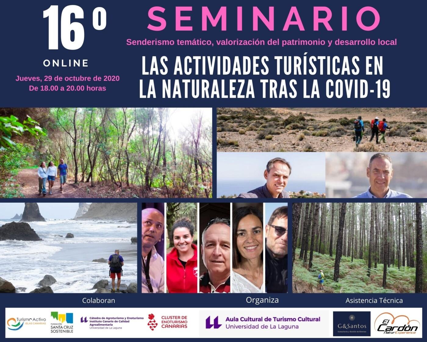 SEMINARIO SOBRE SENDERISMO TEMÁTICO, VALORIZACIÓN DEL PATRIMONIO Y DESARROLLO  LOCAL Seminario-Senderismo